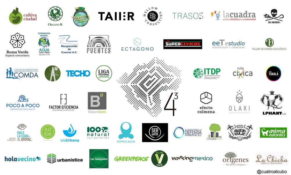 Cuatro al Cubo - Member organizations.png