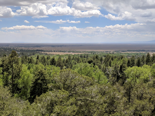 View of the San Luis Valley from Crestone, Colorado