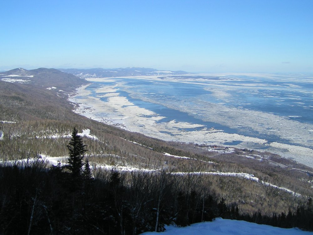 Figure 1 Saint Lawrence River in winter from Le Massif near Baie-Saint-Paul, Quebec, Canada Source: Picture taken by Jan Zatko, Creative Commons