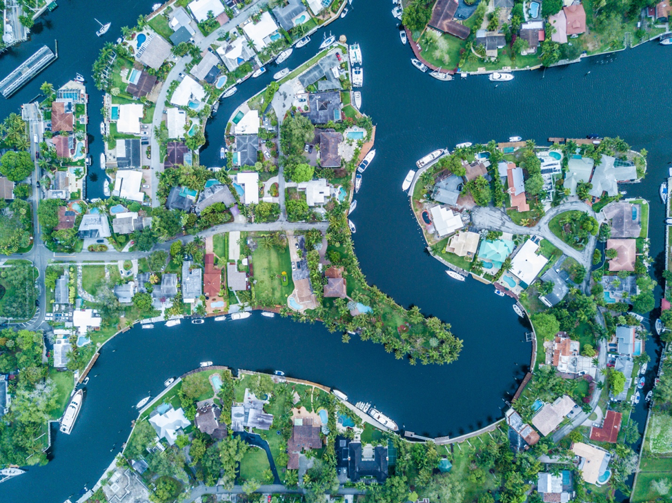 Figure 3 Coastal Development in Florida - Photo by Luiz Centenaro on Unsplash