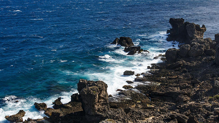 View of the Philippines Sea from Cape Maubito, Taiwan. Photo by CEphoto, Uwe Aranas