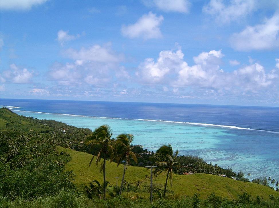 Figure 3 Aitutaki, Cook Islands from Wikimedia by Bullitt