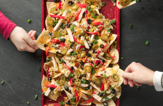 Smoked Turkey Nachos -
