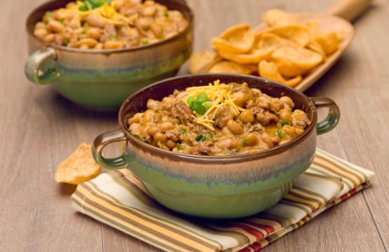 Slow Cooker Turkey Chili - with Fritos
