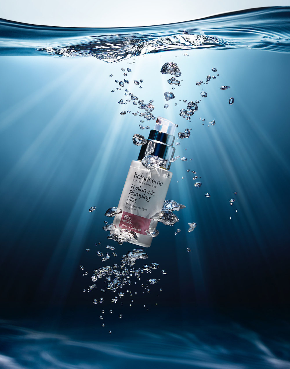 001_Still_Life_Product_Photographer_Dennis_Pedersen_Beauty_Cosmetic_Liquid_Advertising_Editorial_Creative_BALANCE_ME_WATER_DEEP_SPLASH_BUBBLE_LIGHT_RAY_RIPPLE.jpg