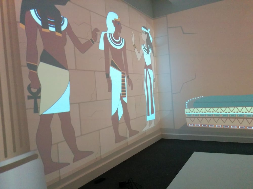 Walk like an Egyptian -  Give a face-to-face history lesson by transporting your class back to the time of the Pharaohs of ancient Egypt. Explore one of the most fascinating periods in history with quizzes and fun games.