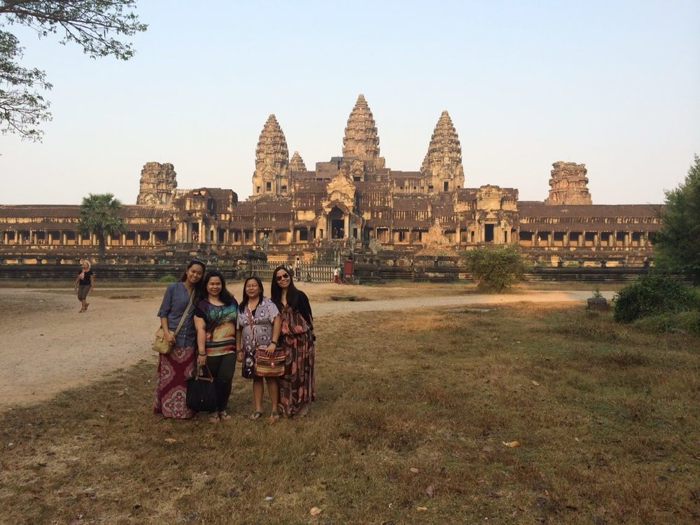 At the historic and wondrous Angkor Wat