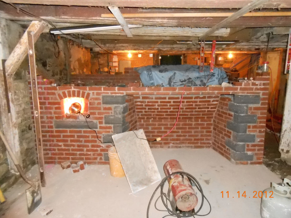 Main Fireplace construction