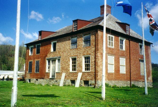 The mansion in 1998