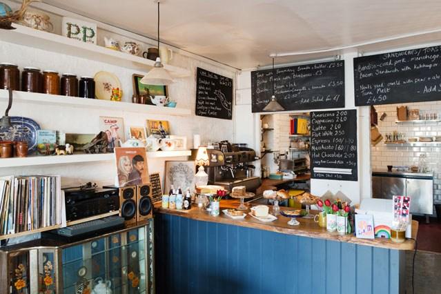 St David's Coffee House Lewisham Card