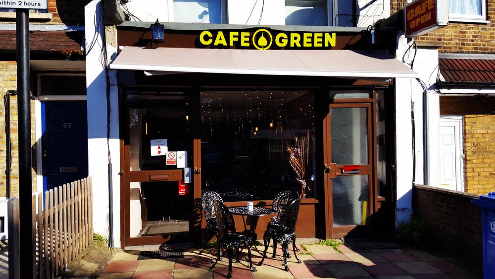 Cafe Green Lewisham Card