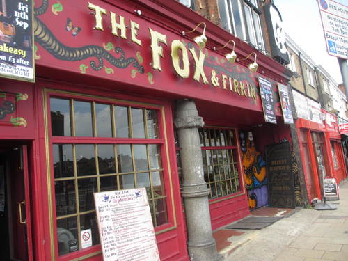 Fox and Firkin Lewisham Card