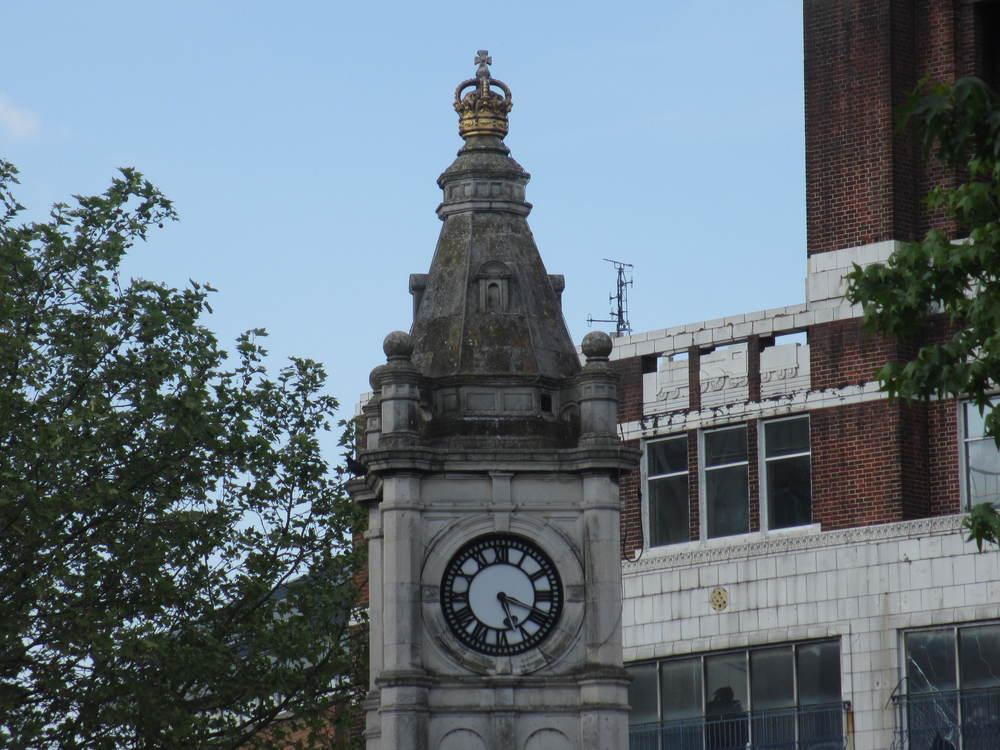 Lewisham Card Clocktower