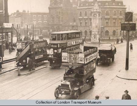 The Clocktower in 1922. Photo: London Transport Museum