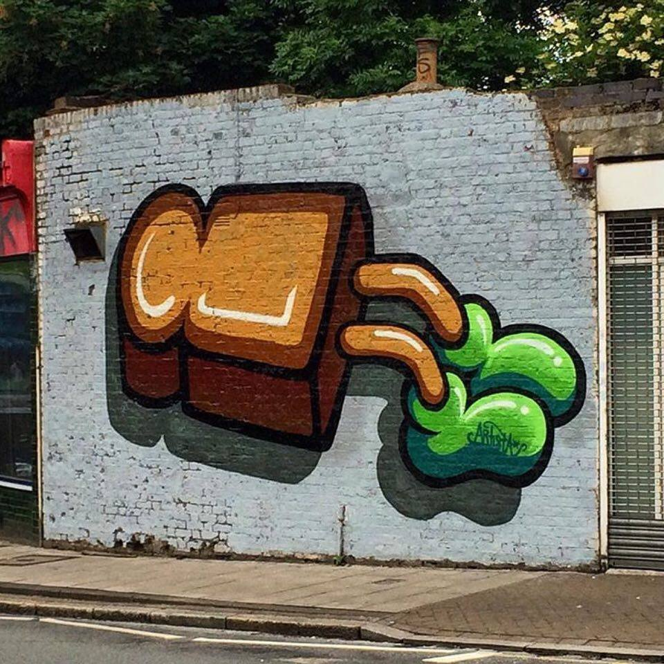 Brockley gets artistic makeover courtesy of Brockley Street Art Festival