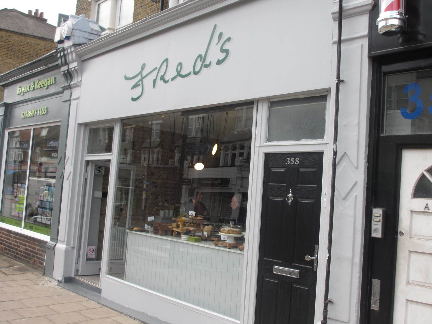 Fred's: New Crofton Park cafe off to a great start