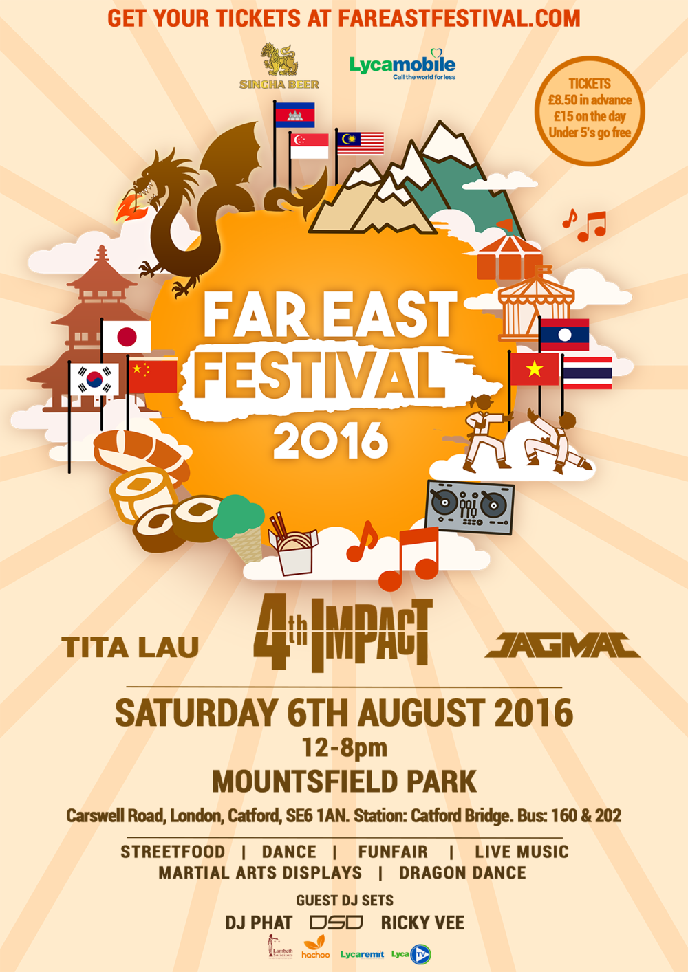 Far East Festival Lewisham Card