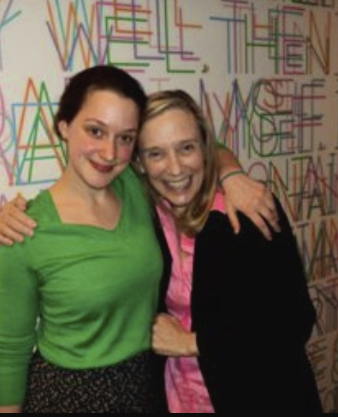 Pictured above: Elizabeth Koosed & Dr. Ellen McGrath (Founder of the Bridge Coaching Institute) at the Gallatin School for Individualized Study at NYU, May 2011.