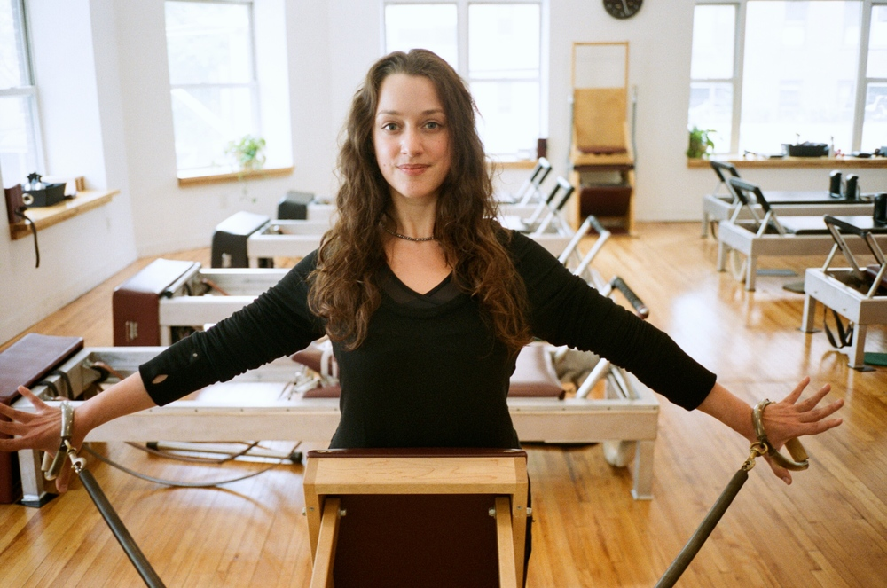 Photo courtesy of Luisa Moraes at Pilates Challenge NYC 2015