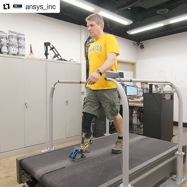 Repost @ansys_inc ・・・ How do designers of next-gen prosthetic devices and exoskeletons face the high cost and time requirements of prototyping? How do clinicians determine the right device for each of their patients? Josh Caputo, Founder & CEO of HuMoTech, realized that a single, innovative approach could address both problems. Learn how on our blog - link in bio.  #ANSYSstartups #ansys #fea #orthotic #prosthetics #startupstories #engineering #simulation