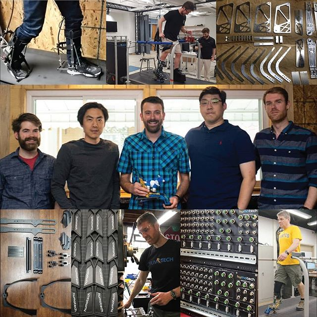 Looking back over our #topnine2018, and feeling grateful for our fabulous team and pioneering customers. Looking forward to an action packed #humotech #2019. Happy New Year! #exoskeletons #prosthetics #robotics