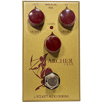 The J Rockett Archer was the first pedal to sound exactly like a Klon Centaur. Now this one sounds more like a Klon Centaur. How is that even possible? You be the judge...