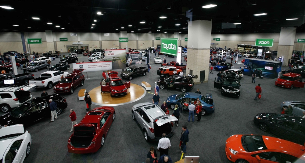 Knoxville News Sentinel Auto Show  February 23 - 25, 2018  Knoxville Convention Center