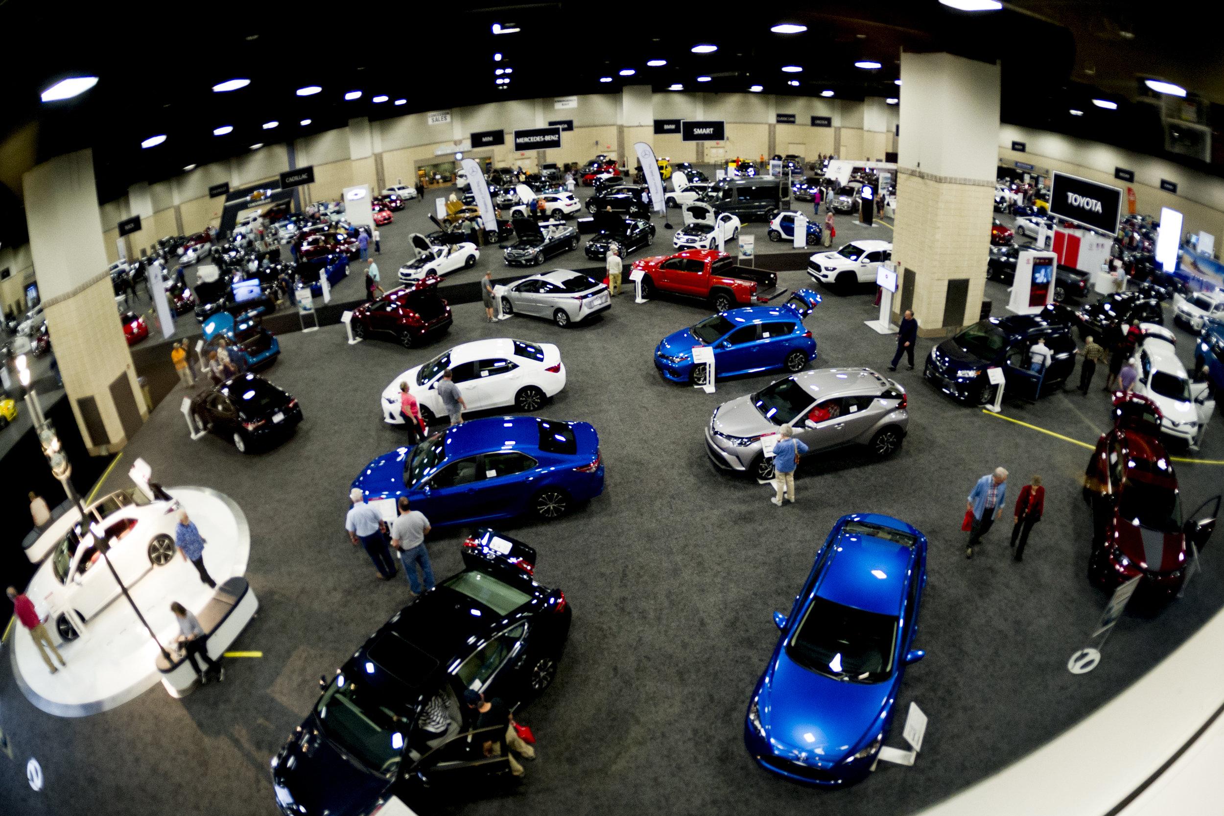 Knox News Auto Show - Car convention