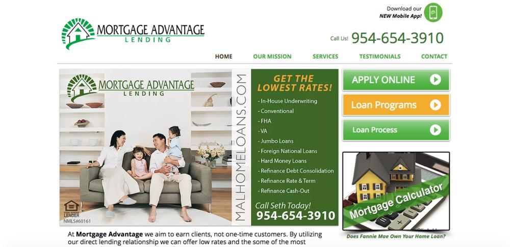 Mortgage Advantage Lending - www.malhomeloans.com
