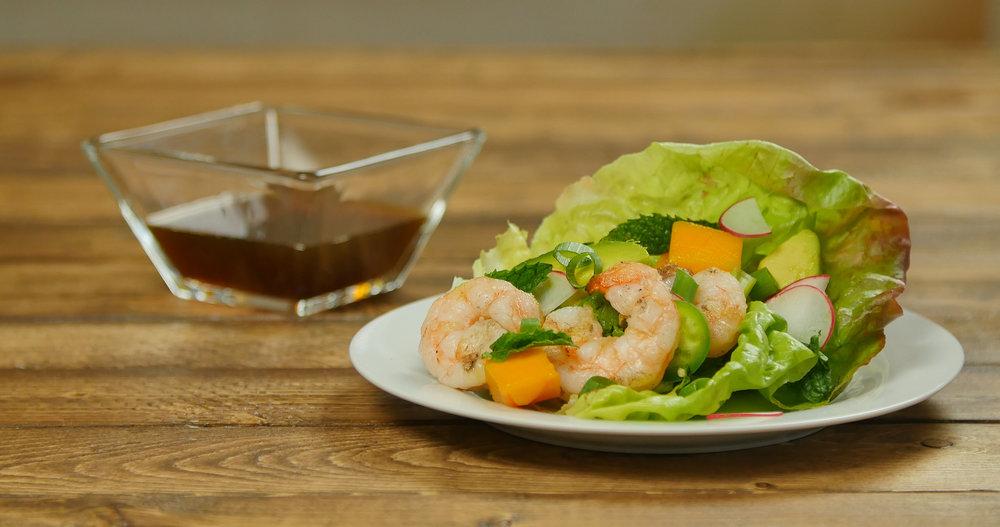 Vietnamese Style Lettuce Wraps
