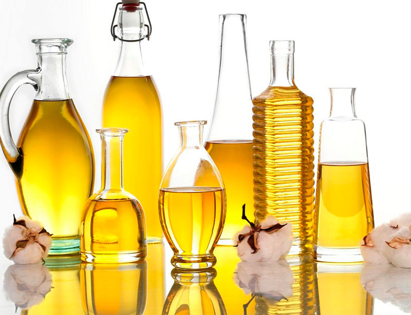 Refined vegetable oils include corn, canola and soybean