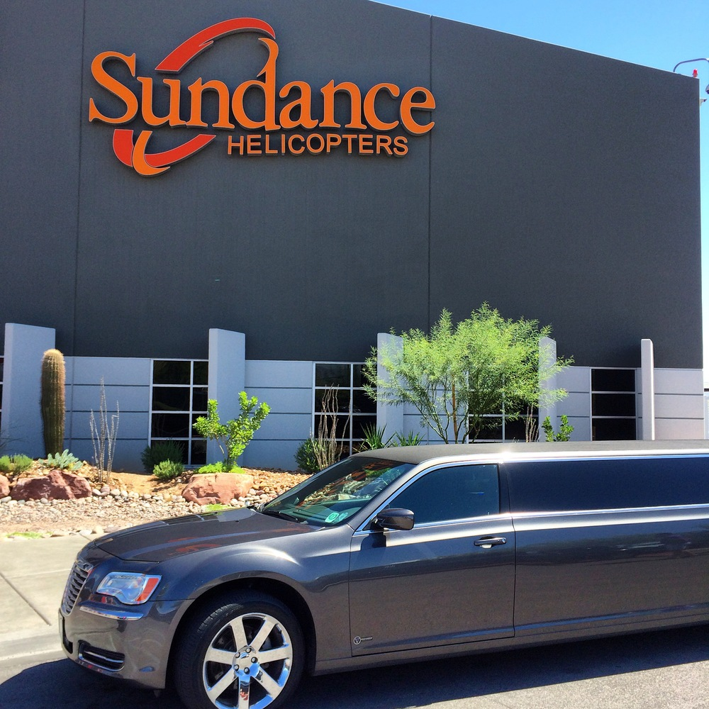Sundance Skywalk Express Helicopter Tour with Limo transfers