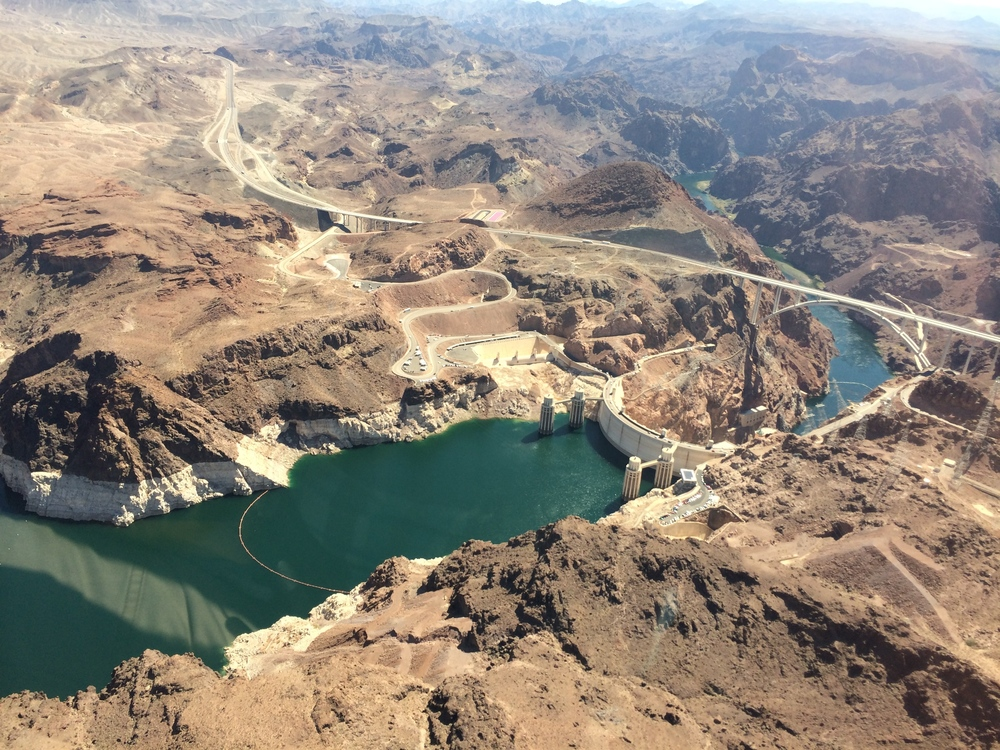 Sundance Helicopters flight over Hoover Dam and Lake Mead