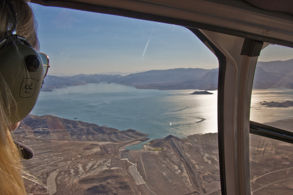 Maverick Flight over Lake Mead