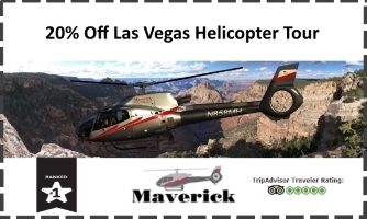 Maverick Las Vegas Helicopter Discount Coupon