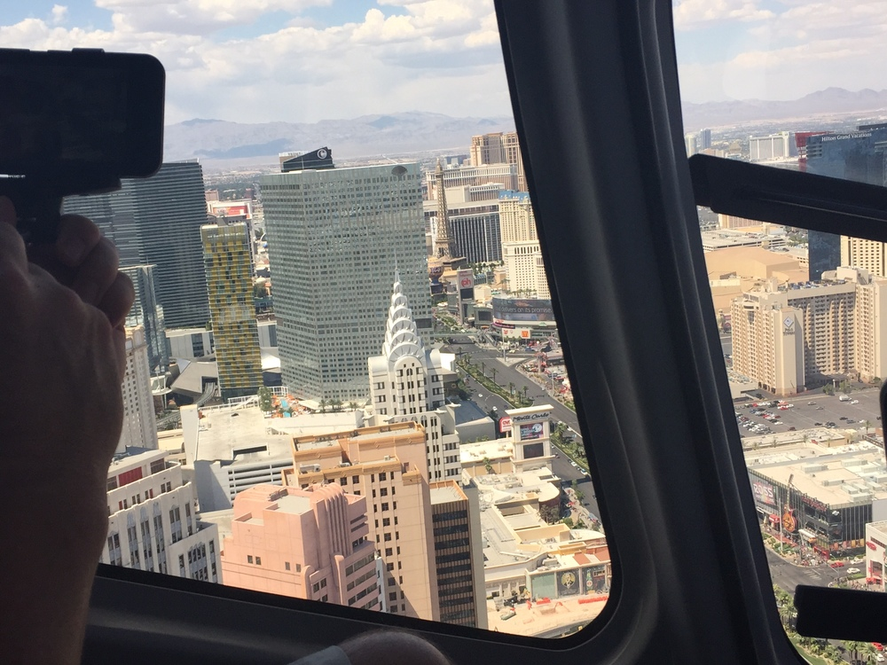 Helicopter flight over Las Vegas Strip included with Sundance Helicopters