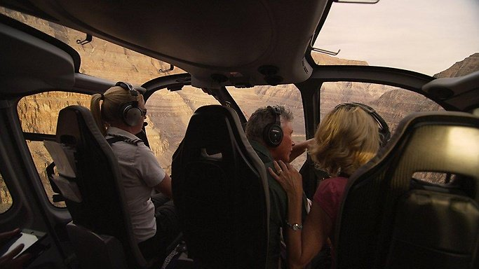 Maximum flight time inside the Grand Canyon