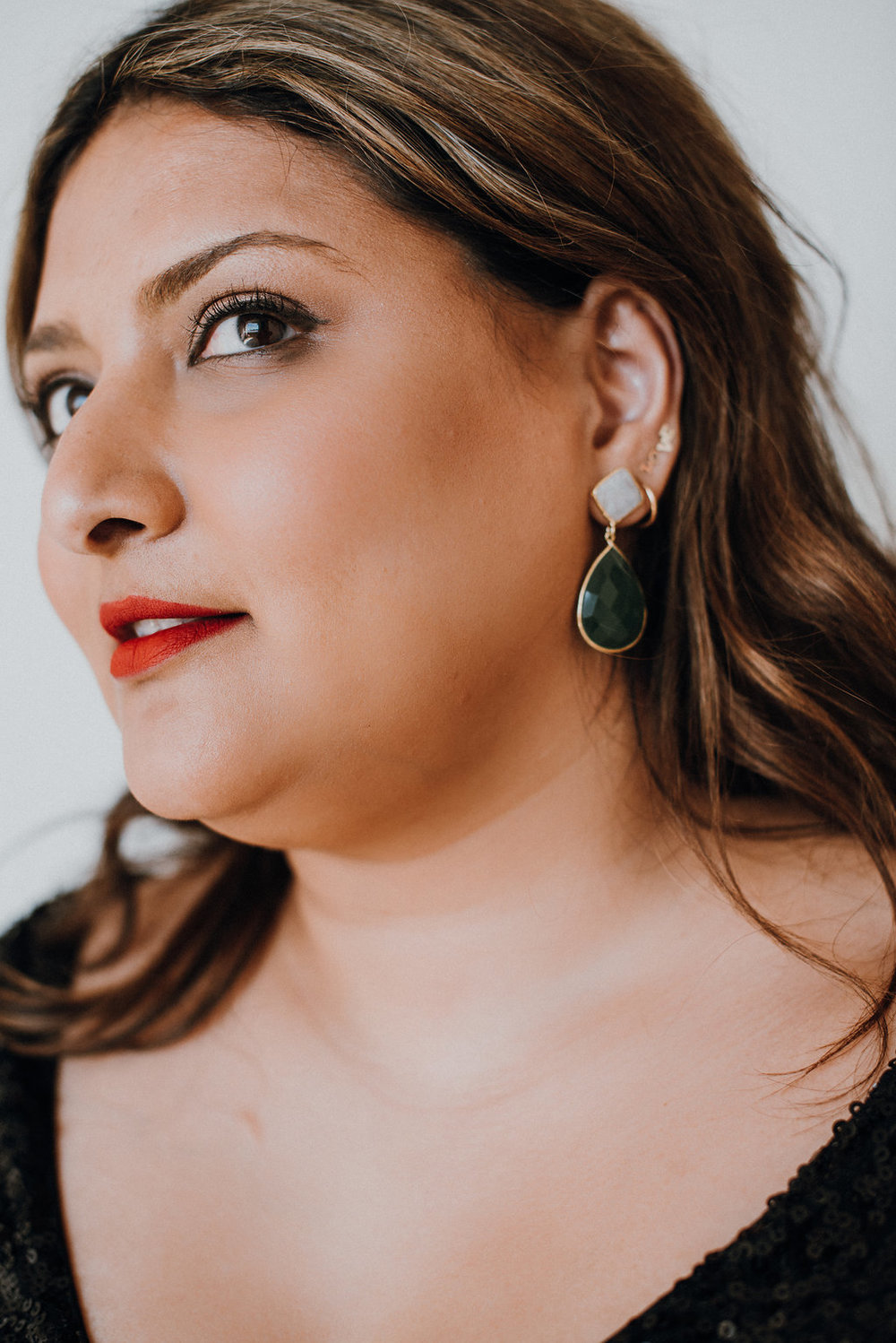 Shop for these earrings  here . Photo credit:  Suzuran Photography