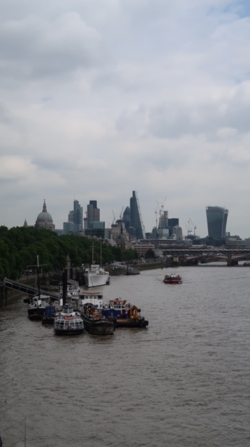 I love the London Skyline. Always have, always will. and this is just part of it!