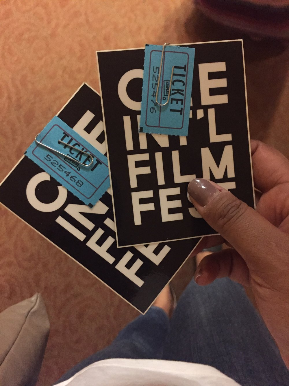 Sadly I didn't win the CIFF raffle for free tickets to the 2018 event.