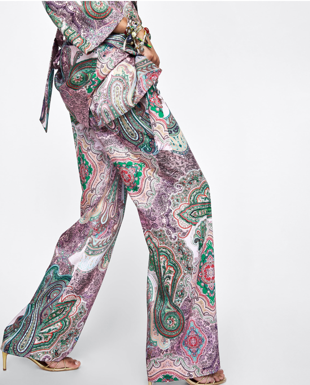 Photo credit: Zara. Check out their collection of  fun printed pants