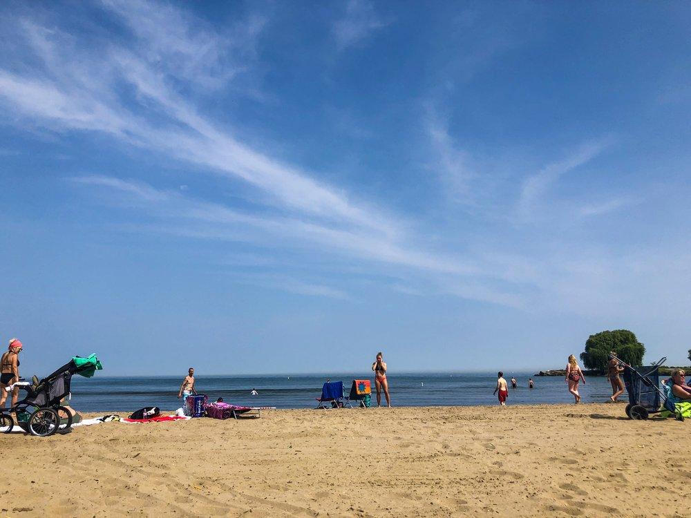 Cleveland beach Edgewater