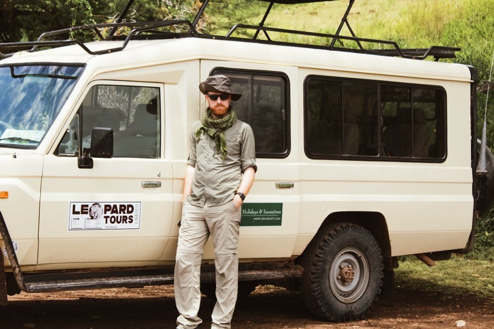 Our safari vehicle. We safari'd with Leopard Tours, Tanzania's largest tour company.