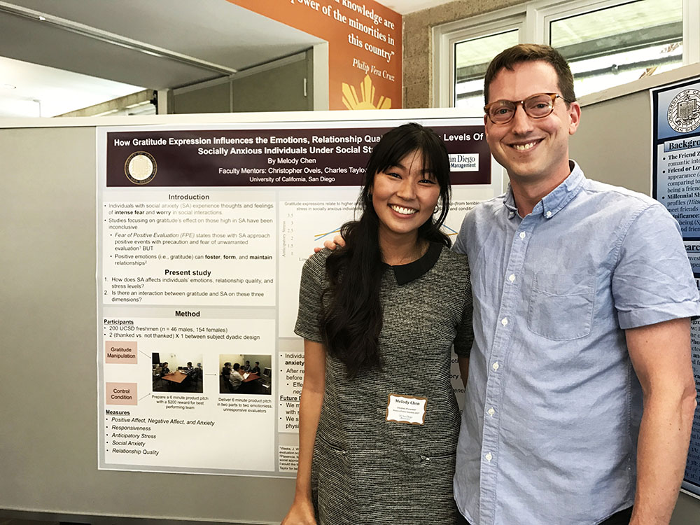 melody @ ucsd poster session spring 2017