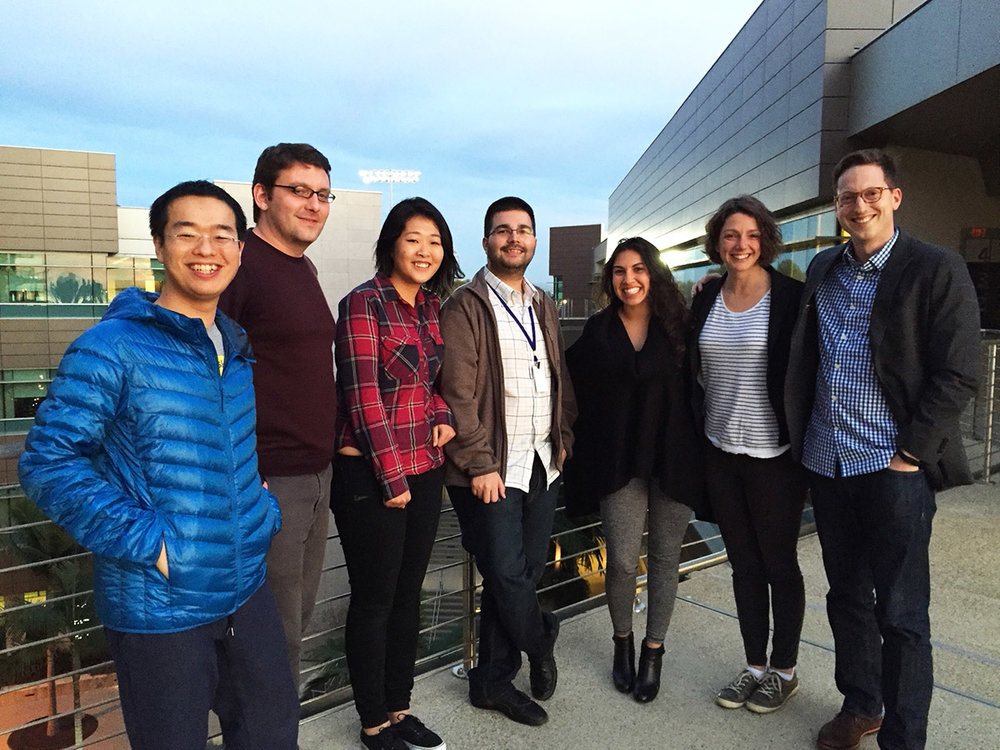 meetup with unc easir lab, jan 2016 san diego