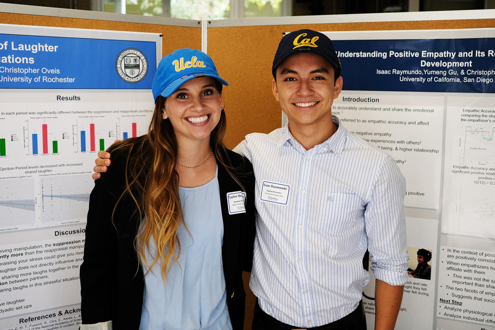 Tayler & Isaac @ honors poster session, june 2018