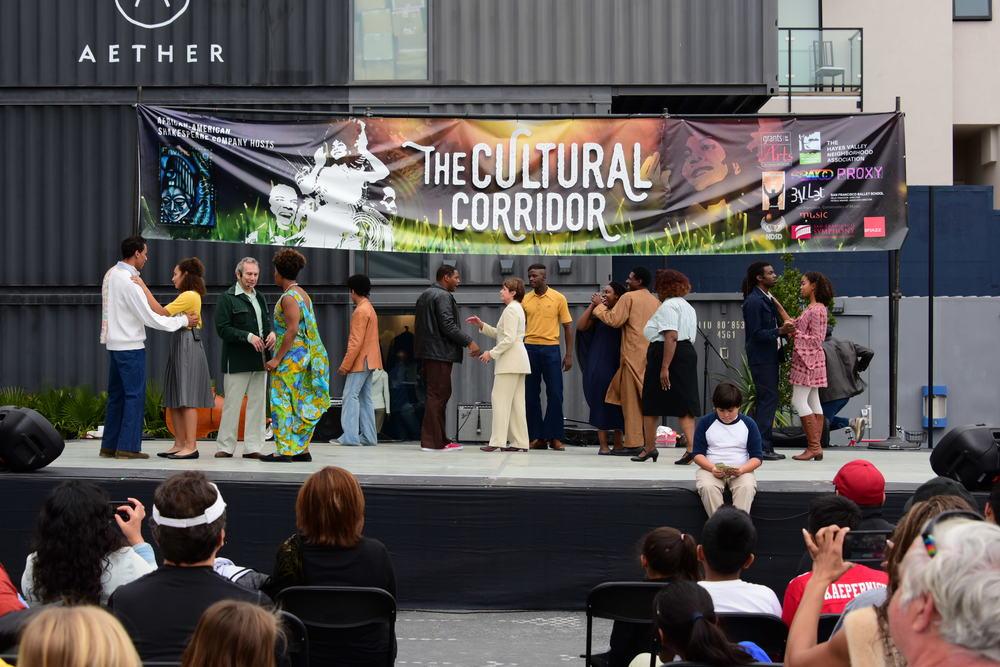 African American Shakespeare Festival, September 2015, Cultural Corridor Festival