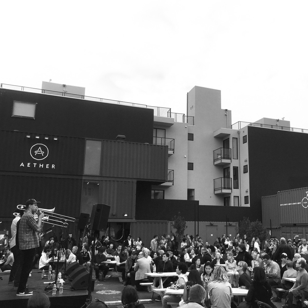 SFJAZZ Neighborhood Blockparty, June 2015