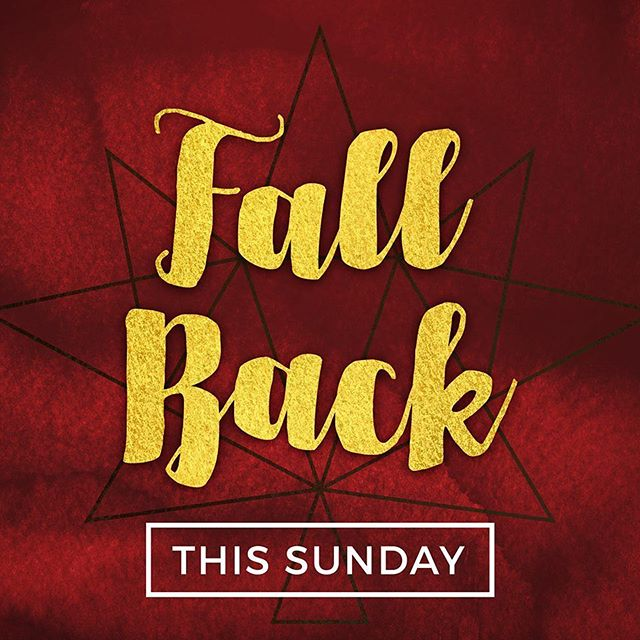 Don't forget the time change this Sunday! Worship starts at 10! #fccchester #daylightsavings