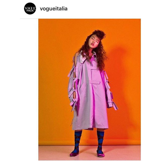 Regram @vogueitalia thanks for the feature💥Styling by me shot by @kiahartelius hair @ayoeness make-up @dausell model @lauralind #vogueitalia #fashionstylist #livkragh